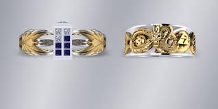 Star Wars Wedding Rings by Takayas Custom Jewelry Is Making Geeky Jewelry Dreams Come True