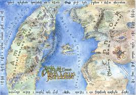 Discworld Map Fantasy And Alien Blank Basemaps Thread Alternate History Discussion