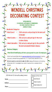 Window Decorating Contest For Christmas by Christmas Decorating Contest Flyer Ideas Christmas Patio