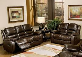 living room gray microfiber reclining sofa red couch living room