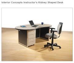S Shaped Desk Stsf Teachers Desks Classroom Stsf