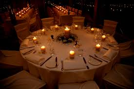 wedding table centerpiece ideas candles decorating of