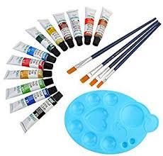 dozen artist quality 12ml water color tubes set with 4 paint