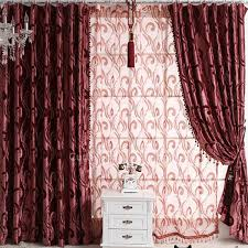Burgundy Velvet Curtains Burgundy Thermal And Energy Saving Floral Quilted Window Curtains