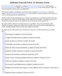 word power of attorney template download