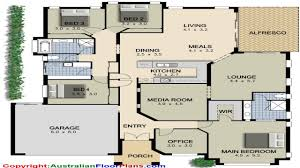 47 4 bedroom open house plans modern 4 bedroom house plans simple