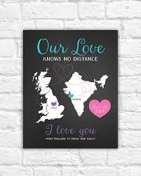long distance anniversary gift for boyfriend girlfriend husband