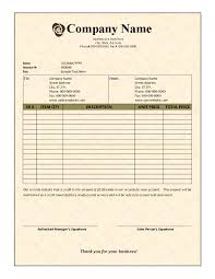 invoice template free sample construction unnamed fil saneme