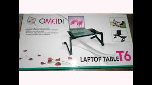 Auto Laptop Desk by How To Use Omeidi Laptop Table T 6 Tutorial Verson 1 1 1 Youtube