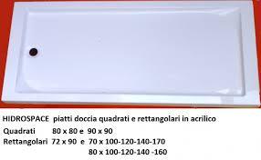 piatto doccia rettangolare 70 x 80 piatti doccia bordo alto quadrati e rettangolari