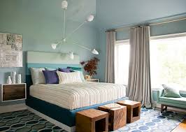 bedrooms bedroom decor ideas with white blue bed and wall