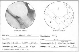 mars u2013 march 6 2010 astronomy sketch of the day