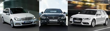 audi a4 comparison from here and there photo comparison bmw 3 series touring vs