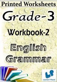 grade 3 english grammar workbook 2 printed book interactive
