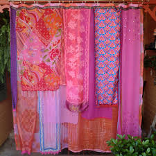 Hippie Curtains To Cheer Up Your Room Bohemian Shower Curtain Function And Color Combinations Http