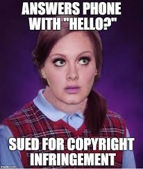 Meme Copyright - 18 clever adele memes sayingimages com