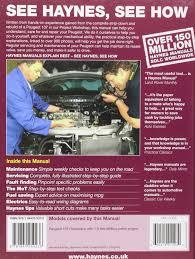 peugeot 107 petrol 05 11 haynes repair manual haynes service