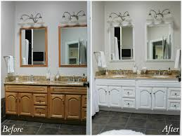 painting bathroom cabinets with spray paint grey painted already shared our big summer project painting kitchen cabinets white however never that also painted bathroom