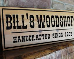 carved wood signs etsy