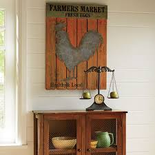 Rooster Decor For The Kitchen Country Kitchen Decorating Ideas