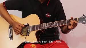 belajar kunci gitar ran dekat di hati chord kunci gitar lagu ran dekat di hati guitar cover chord