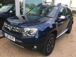 used dacia duster cars for sale motors co uk