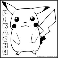 pikachu coloring pages coloringeast