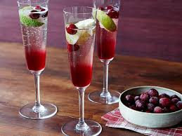 cranberry chagne cocktail recipe florence food network