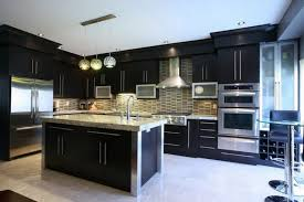 kitchen ideas with black cabinets kitchen cabinets with light wood floors outofhome