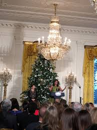 first look at white house christmas decorations