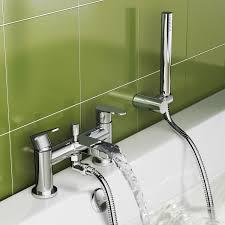 nelas bath shower mixer tap with hand held head soak com loversiq cela waterfall bath shower mixer tap with hand held head soak com bathroom rugs