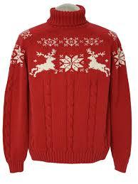 lands end christmas 80 s vintage mod christmas ski sweater 80s lands end unisex