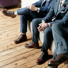 wedding shoes groom 14 cool wedding shoes for your groom martha stewart weddings