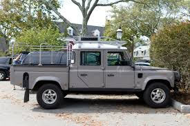 the street peep 2006 land rover defender 130 tdi
