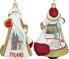 Krakow Poland Christmas Ornaments