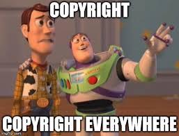 Meme Copyright - x x everywhere meme imgflip