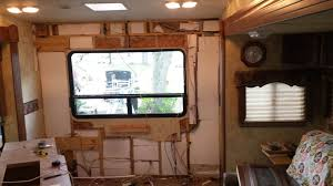 rv interior wall repair home with wheels