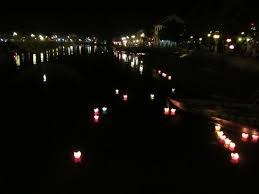 luck lanterns prayer luck lanterns from hoi an bridge just