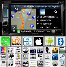 kenwood excelon double din dvd navigation carplay install kit