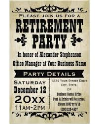 retirement party invitations amazing deal on custom vintage country retirement party invitation flyer