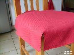 housse assise de chaise réalisation facile et rapide de housses pour dessus de chaises