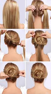 cool step by step hairstyles simple hairstyle for how to do different hairstyles image