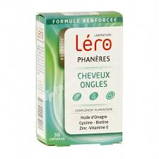 supplements léro phanères for nails u0026 hair 30 capsules