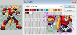 so you want your sprites to be 16 colors 2d will never die