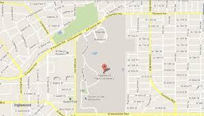 map of inglewood california wilson family genealogy inglewood park cemetery usa ca los