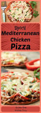 Spices Mediterranean Kitchen Spicy Mediterranean Chicken Pizza Kitchen Frau