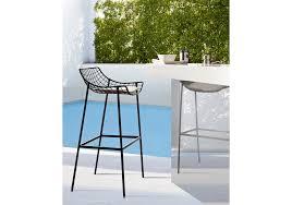 summer set bar stool with seat cushions varaschin milia shop