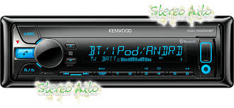 porta cd per auto autoradio bluetooth cd usb mp3 aux in 3 pre out rca 1 din kenwood