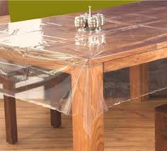 dining table cover clear clear transparent glitter pvc vinyl wipe clean tablecloth ezol