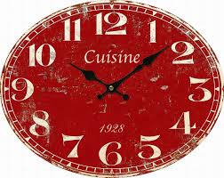 Pendule Murale Originale by Pendule Cuisine Originale Wesco Classic Line Horloge De Cuisine